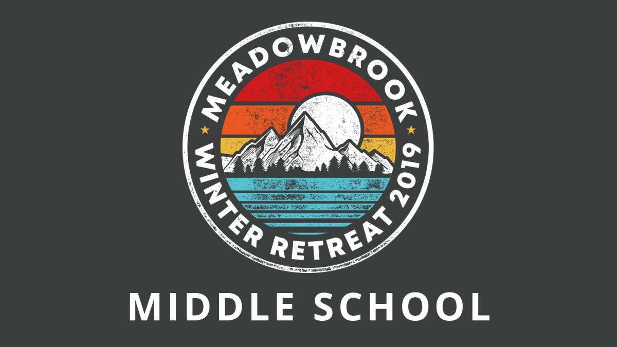Middle School Winter Retreat
