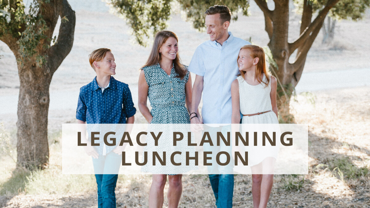 Legacy Planning Luncheon