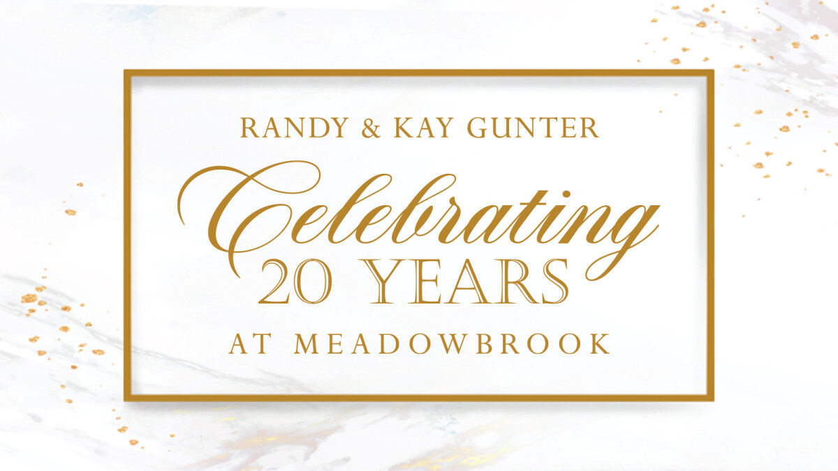 20th Anniversary Reception for Pastor Randy & Kay
