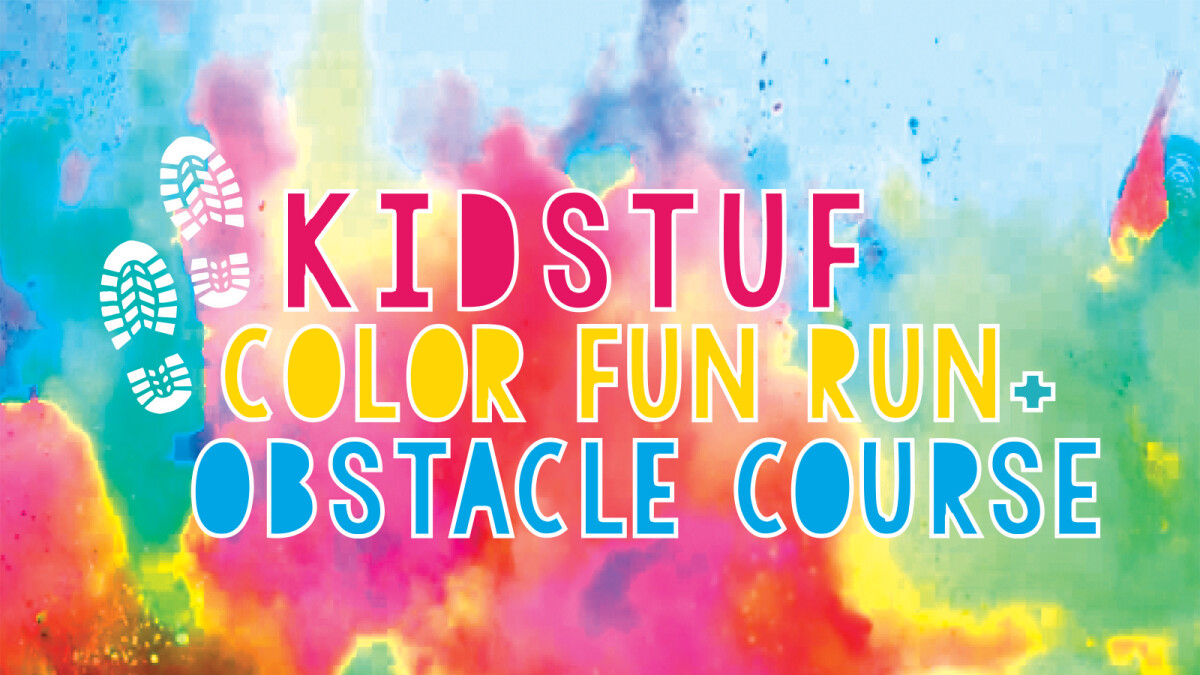 KidStuf Color Fun Run + Obstacle Course