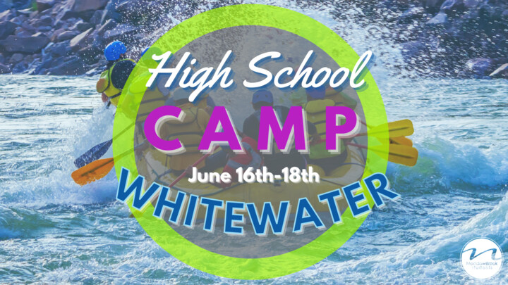 High School Whitewater Camp